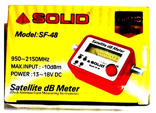 Solid Satellite Db Meter