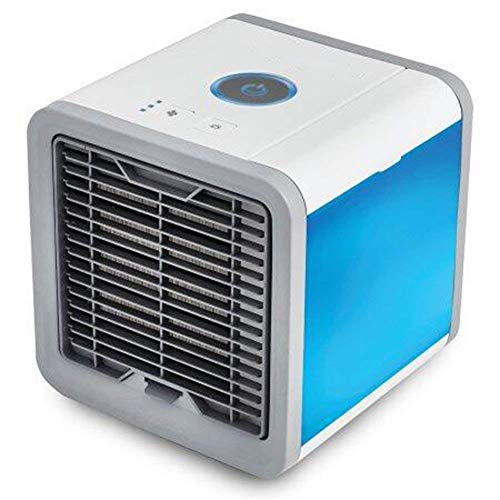 Xanadu Mini Portable Air Cooler Fan Arctic Air Personal Space Cooler The Quick & Easy Way to Cool Any Space Air Conditioner Device Home Office(Blue)