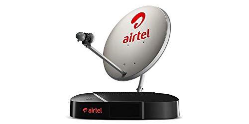 Airtel Digital TV HD Set Top Box with 1 Month Mega HD Pack