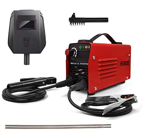 Cheston Inverter ARC Welding Machine (IGBT) 200A with 2 Welding Rods and Other Accessories (CHWM-200)