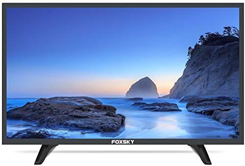 Foxsky 60.96 cm (24 inches) HD Ready LED TV 24FSN (Black) (2021 Model)