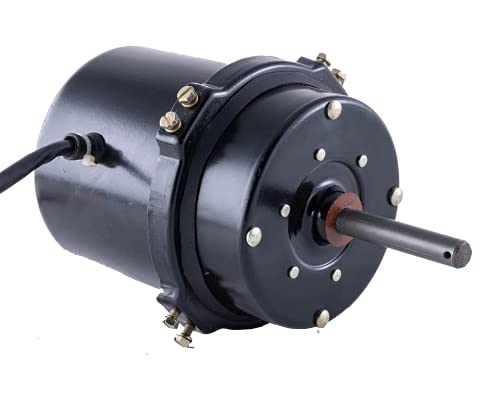 """cm SUKHRAM CM415HD Exhaust Fan Desert Cooler Motor Comes in 3-Speed, A.C.W Rotation, 110W, 1440/rpm Suitable for 15"""" inches Exhaust Fan or 17"""" Inches Climatizer Blade (Blade Weight Up to 850Gms)"""