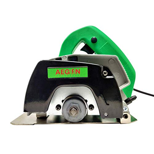 Aegon Ac4 Made in INDIA Heavy Duty Multipurpose Marble/Tile/Granite/Stone/Brick/Porcelain/Ceramic Cutter without Blade (1050 W, 12000 Rpm, 4 Inch, Green)