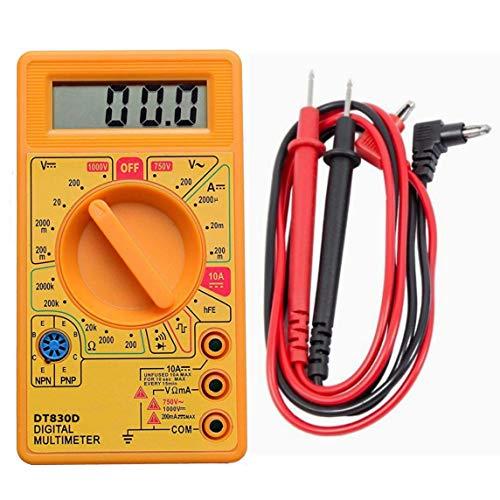 DT830D LCD Display Digital Multi-meter Digital Multimeter (Pack of 01)