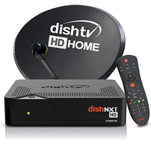 Dish TV HD (1080 i) Set Top Box   1 Month Free Subscription of Hindi HD Pack   Lifetime Warranty