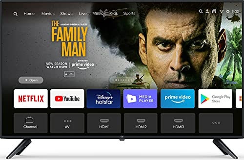 Mi 100 cm (40 Inches) Full HD Android Smart LED TV 4A L40M5-5AIN (Black)