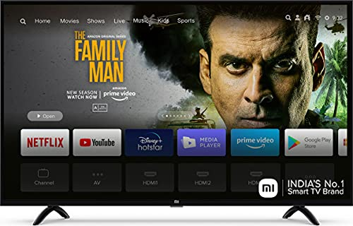 Mi 108 cm (43 Inches) Full HD Android Smart LED TV 4A PRO L43M5-AN (Black)